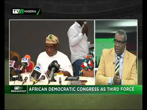 TVC Breakfast 14th May, 2018 | African Democratic Congress as 3rd Force