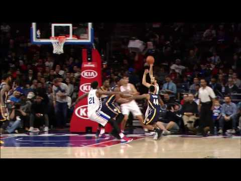 76ers Beat the Shot Clock After a Crazy Sequence