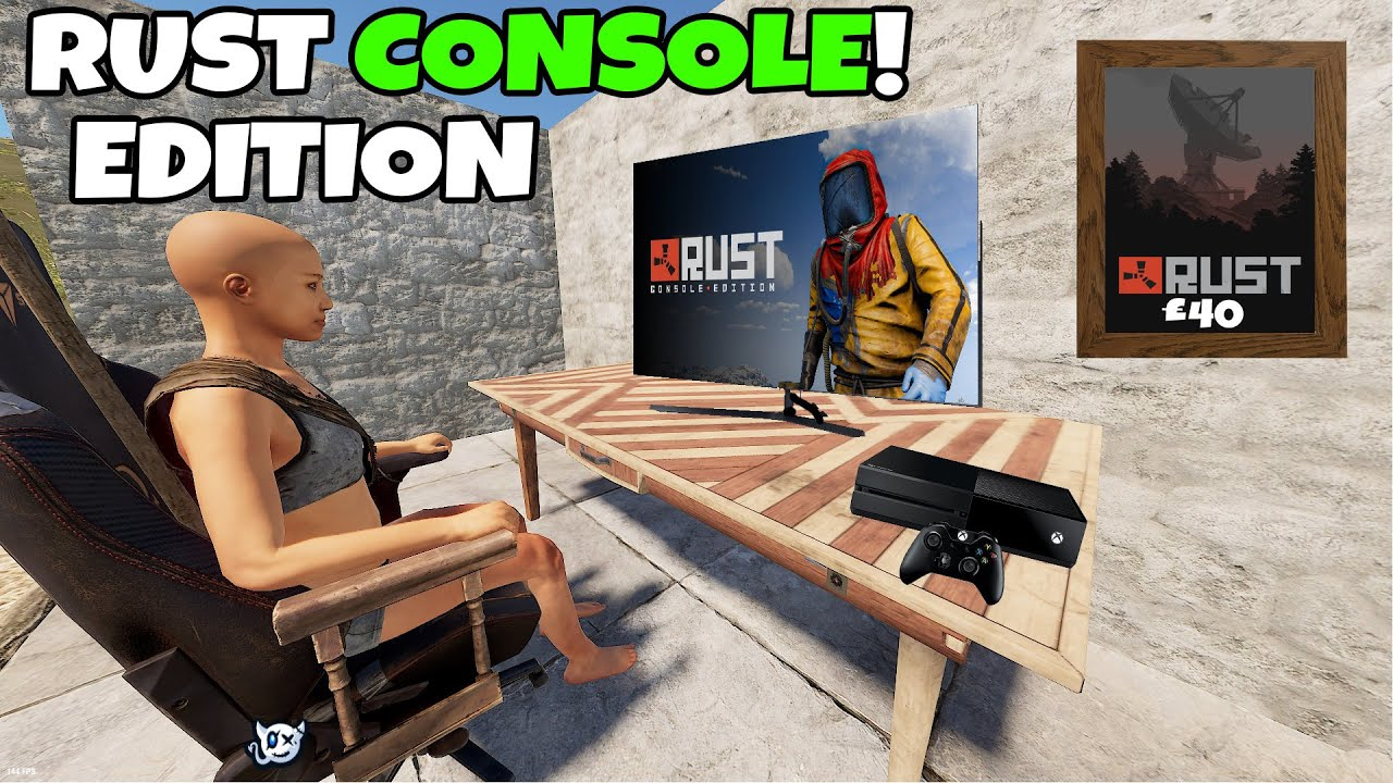Rust | I ACTUALLY TRIED RUST CONSOLE EDITION !