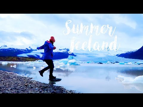 Summer Iceland Travel Diary  [Inside the Volcano, Silfra and Glacier]