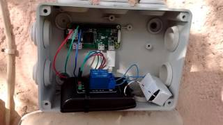 Remote gate opening  with RaspberryPi and iOS HomeKit