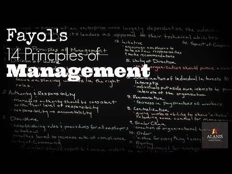 Administrative Management And Henri Fayol's 14 Principles Of Management