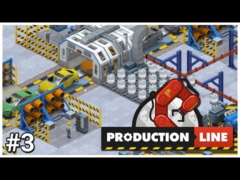 Production Line [Early Access] - #3 - Tech Race - Let's Play / Gameplay / Construction