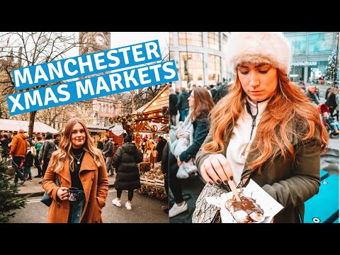 MANCHESTER CHRISTMAS MARKETS 🎅🎄 BEST CHRISTMAS MARKETS IN BRITAIN!