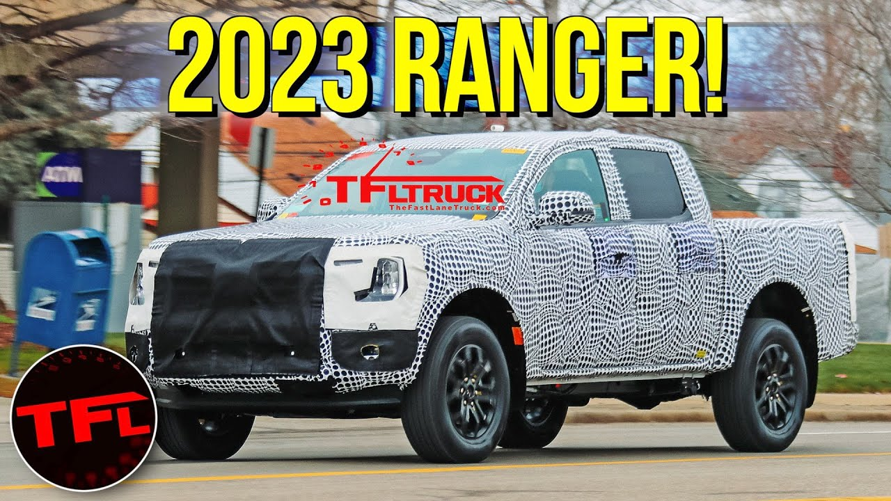 Breaking News: Here Is Your First Look at the 2023 Ford Ranger!