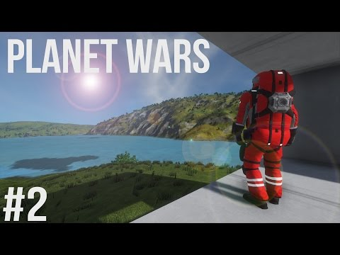 Space Engineers | Planet Wars - Ep 2 | By a Raven's Eye!