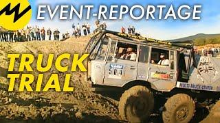 Event-Reportage: Truck Trial   Offroad-Monster graben sich präzise durch Unmengen von Schlamm