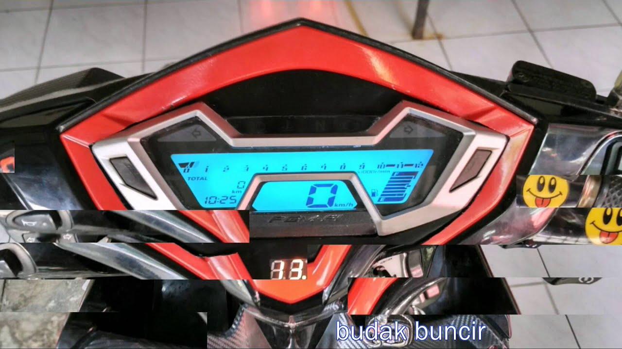 Custom Speedometer Honda Vario 125 YouTube