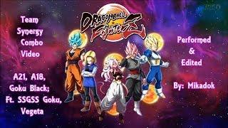 DBFZ - Team Synergy Combo Vid by Mikadok