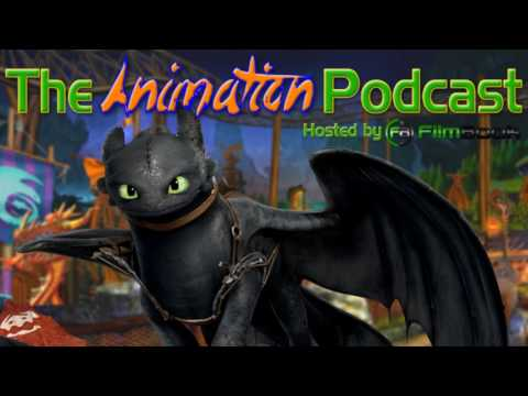 HOW TO TRAIN YOUR DRAGON RIDE in Dubai - The Animation Podcast HIGHLIGHTS