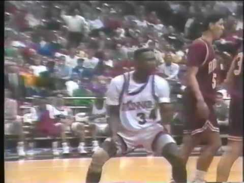 1991 92 Cincinnati Bearcats Basketball Highlight Video