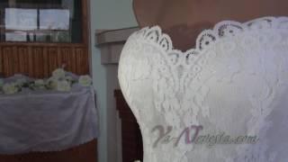 Видеообзор свадебного платья бюджетного варианта от интернет-магазина www.ya-nevesta.com