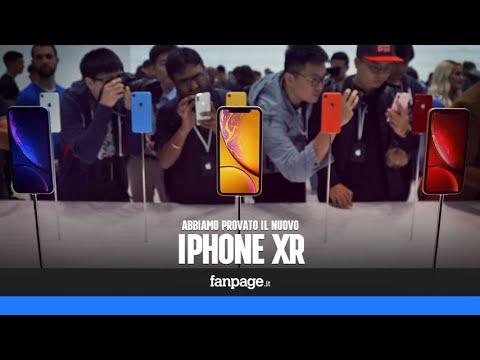 """Abbiamo provato l'iPhone XR, il """"low cost"""" da 889 euro"""