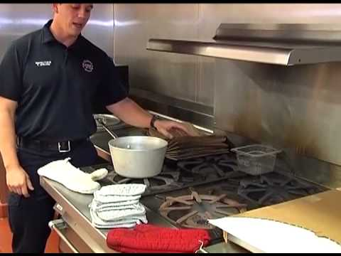 Commercial Kitchen Fire Safety Training