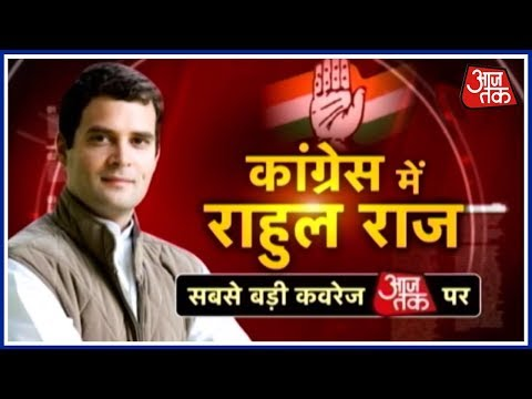Rahul Gandhi's Elevation As Congress Chief: Take A Look At His Political Journey So Far