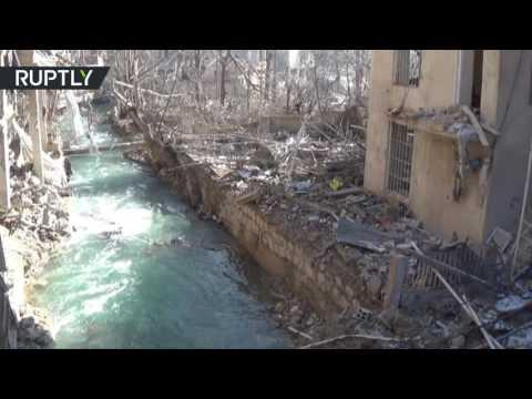 Сирийская армия получила контроль над основным источником воды близ Дамаска
