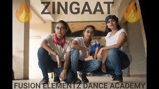 Zingaat - Sairaat | Dance Video | Fusion Elementz Dance Academy