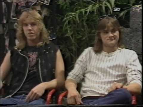 Flotsam and Jetsam 1988 Interview (106 of 100+ Interview Series)
