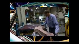 How a Car fender or body part is manufactured