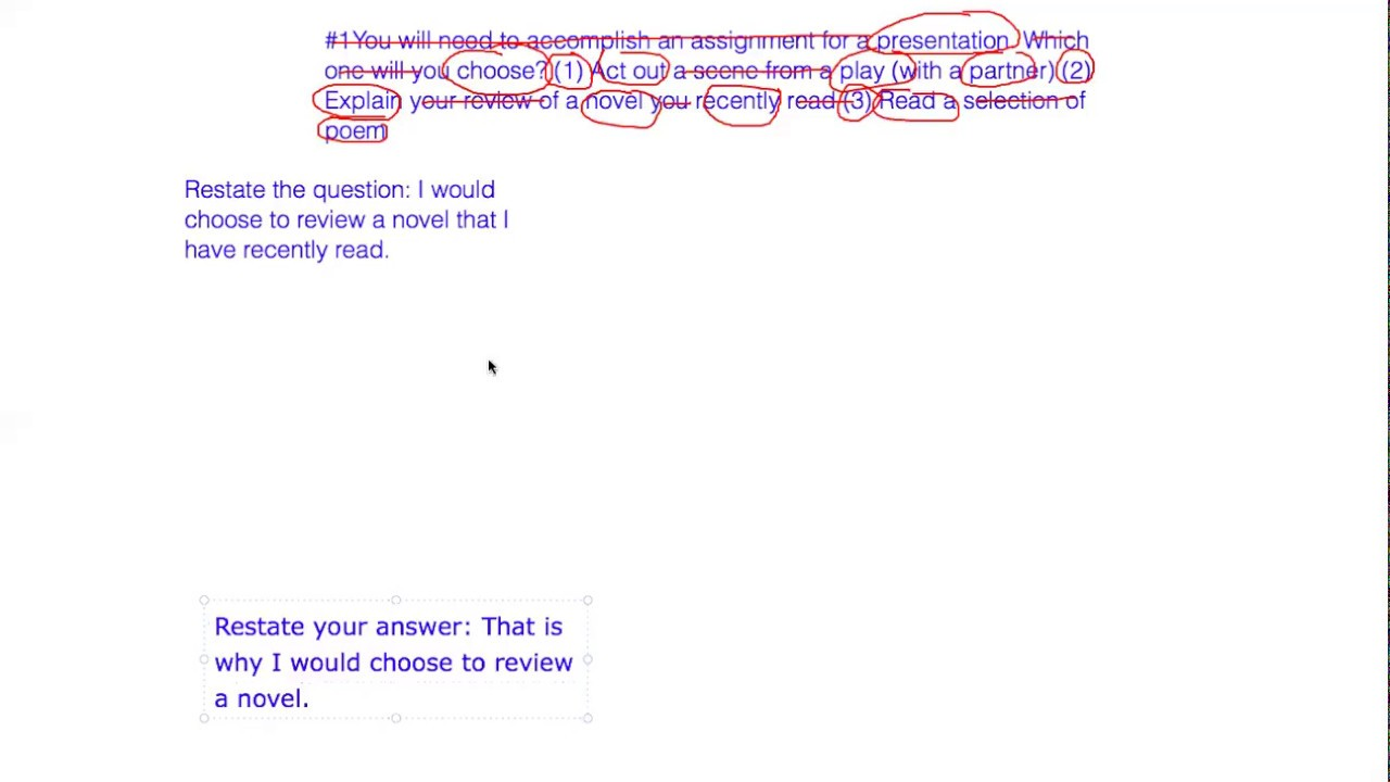 TOEFL Speaking Practice Test 1 Sample Question with Answer ...