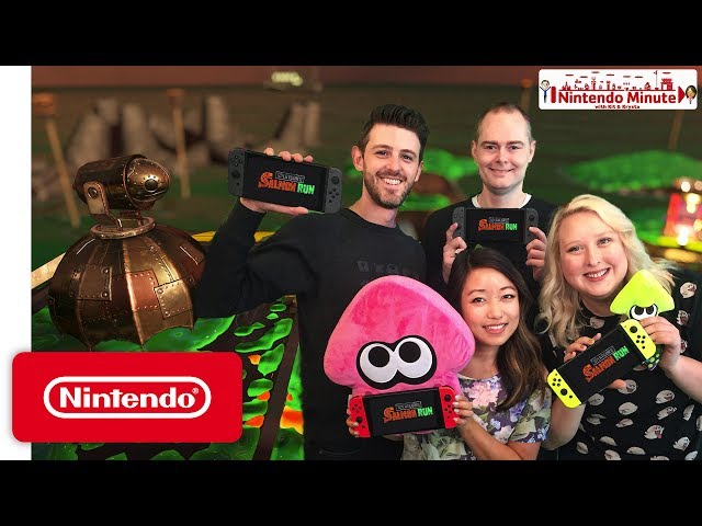Splatoon 2 Salmon Run Gameplay - Nintendo Minute
