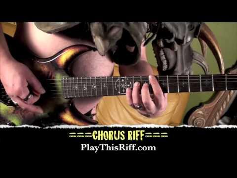 GWAR Guitar Lesson