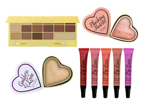 "Haul-Review: Novedades ""I Heart Makeup"""