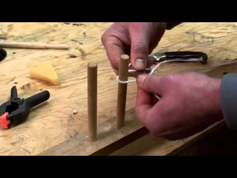 How to Make a Flemish Twist Longbow String (Part 1)