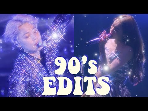 how to make retro 80's 90's edits (video&photo) // app tutorial