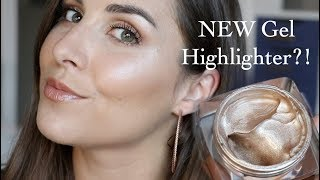 NEW Butter London Glazen Highlighter Gel Review | Bailey B.