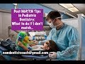 Post Match Tips for Pediatric Dentistry Residency | New Dentist Coach Session 18-128