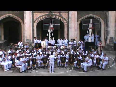 OLD HINDI SONG,BY INDIAN NAVY BAND AT ST XAVIER'S COLLEGE