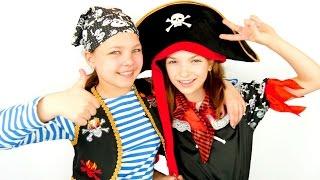 Веселые игры для девочек. Палундра -пираты!