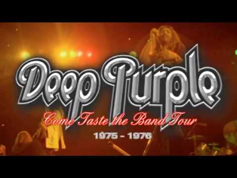 Deep Purple : Come Taste the Band Tour 1975 - 1976
