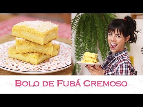 BOLO de FUBÁ CREMOSO | TPM, pra que te quero?