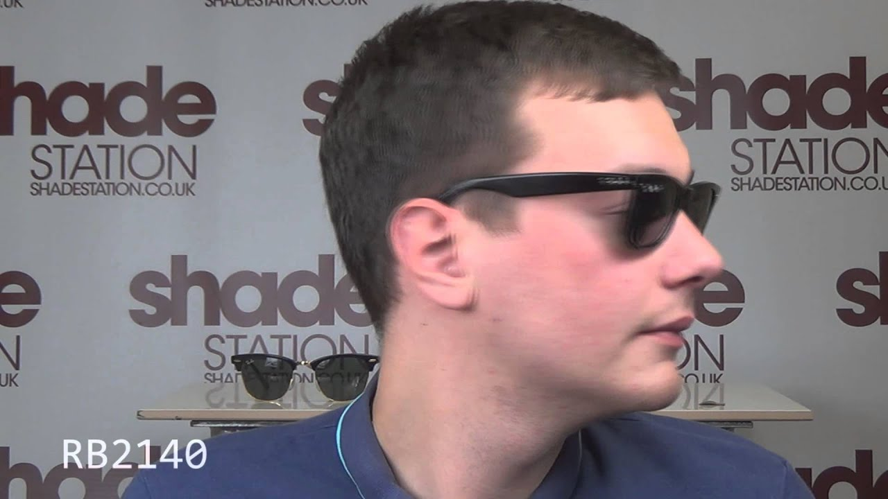small ray ban clubmaster  Ray Ban Clubmaster \u0026 Wayfarer - the key differences - YouTube