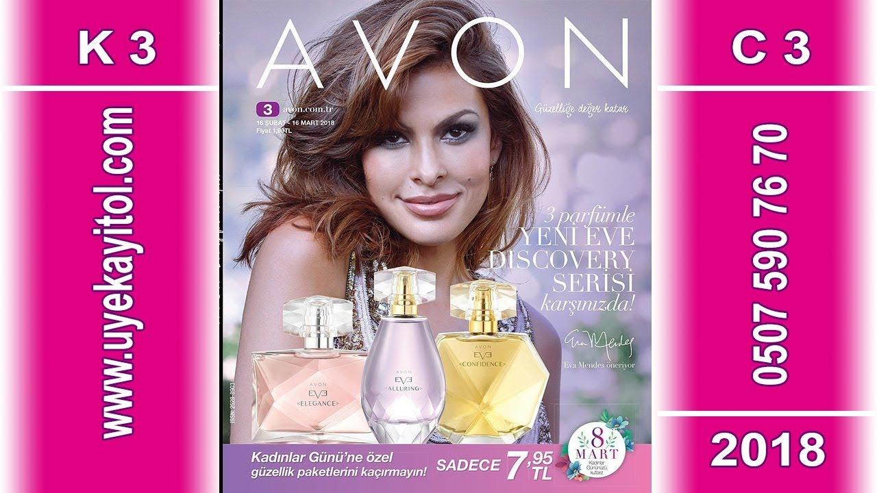 Avon K3 Katalog 2018 - Full HD - Avon C3 Catalog 2018 - Avon 16 Şubat - 16 Mart  2018