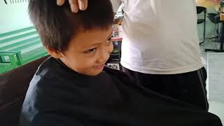Padang bulan habib syech Algozali potong rambut minta di masukin youtube