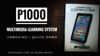 P1000 Multimedia Learning System   Unboxing   Quick Demo