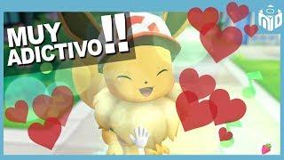 ¡Es ADICTIVO! Pokemon Let's GO Eevee Coop Español | N Deluxe