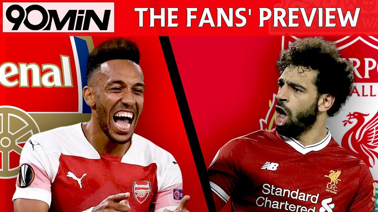 Image result for arsenal vs liverpool 2018