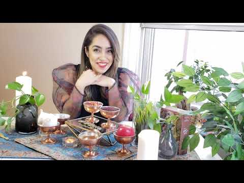 How to set a Sofreh Haftseen by Niloufar joon!