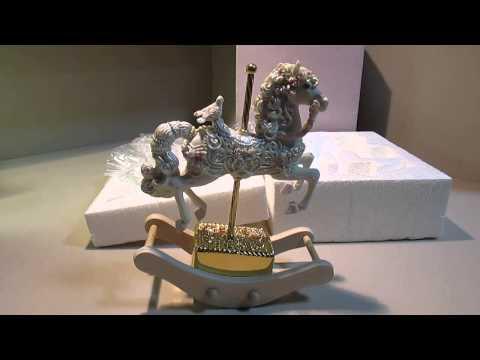 (Ebay) The San Francisco Music Box Company Love Rocking Horse Example