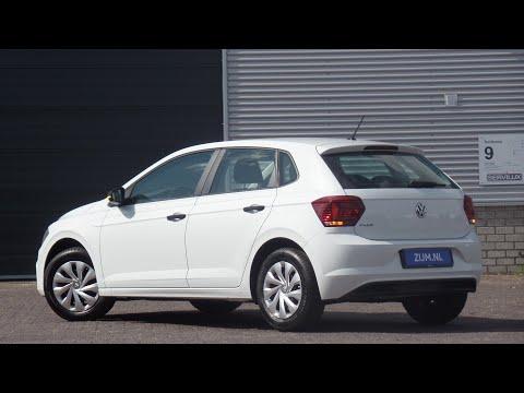 Volkswagen NEW Polo in 4K 2019 Trendline Pure White Carat walk around & detail inside