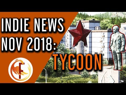 Best Upcoming Tycoon and Business Management Games   Indie Game News November 2018