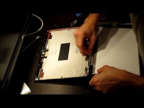 DIY Laptop Screen Replacement : Replacing The LCD Panel On A Lenovo X220 Thinkpad