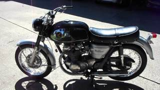 1966 CB450K0 CB450 BLACK BOMBER