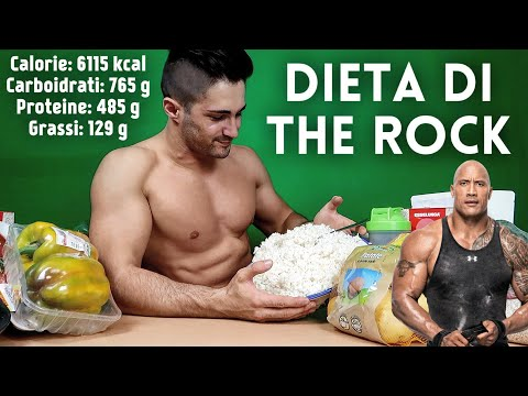 PROVO LA DIETA DI THE ROCK! [Dwayne Johnson]