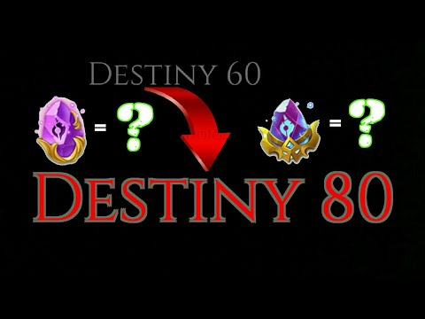 How Many Karmic Rocks Are Needed From Destiny 60-80 | Castle Clash