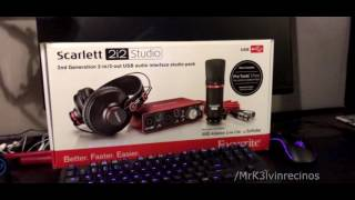 focusrite scarlett 2i2 bundle overview best deal right now with extras